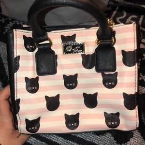 Price drop!!! NWOT Betsey Johnson small cat print